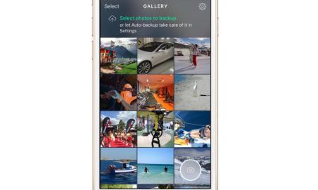 Avast Photo Space App Header
