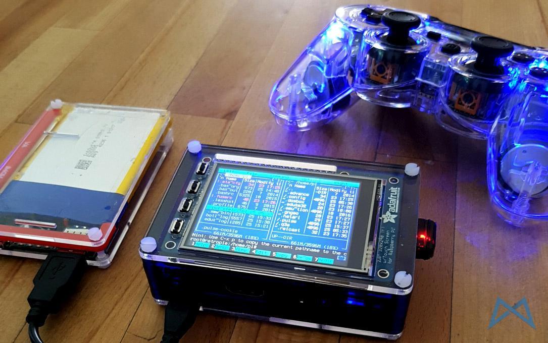 Afterglow PS3 Wireless Gamepad mit Raspberry Pi 2 Model B ausprobiert