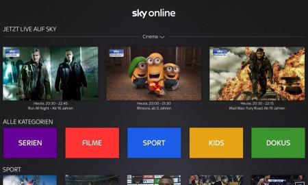 Sky Online Apple TV