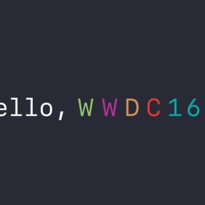 WWDC 2016 Header