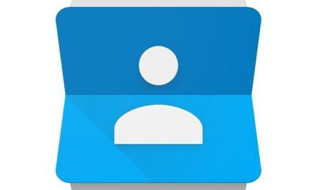 google kontakte contacts icon header