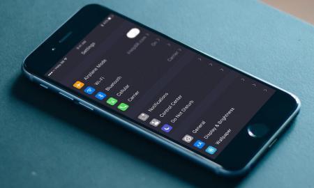 iOS Dark Theme Konzept5