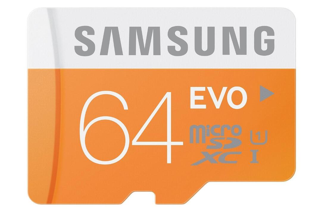 MicroSD von Samsung: 64 GB Speicher für nur 12 Euro erhältlich
