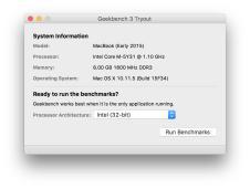 Geekbench Macbook2015
