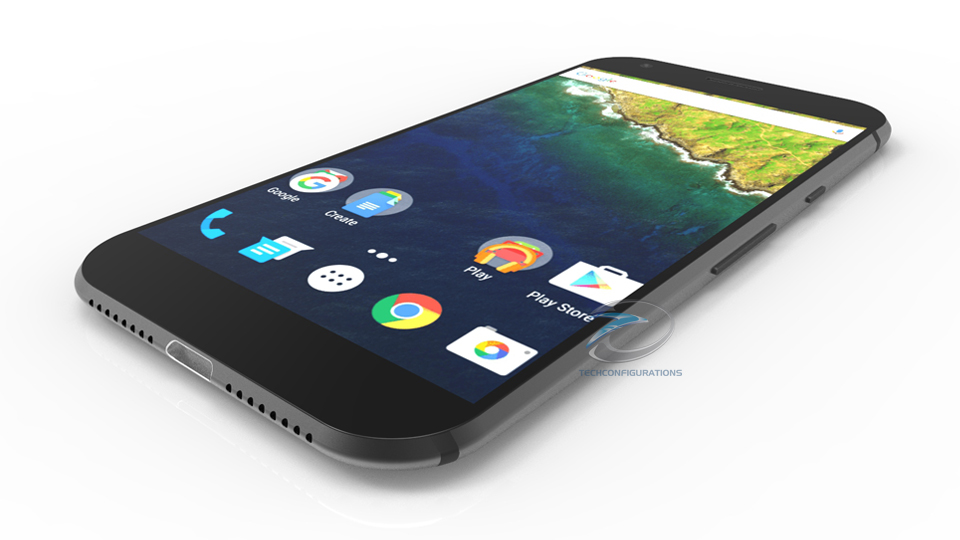 HTC Nexus Konzept Front