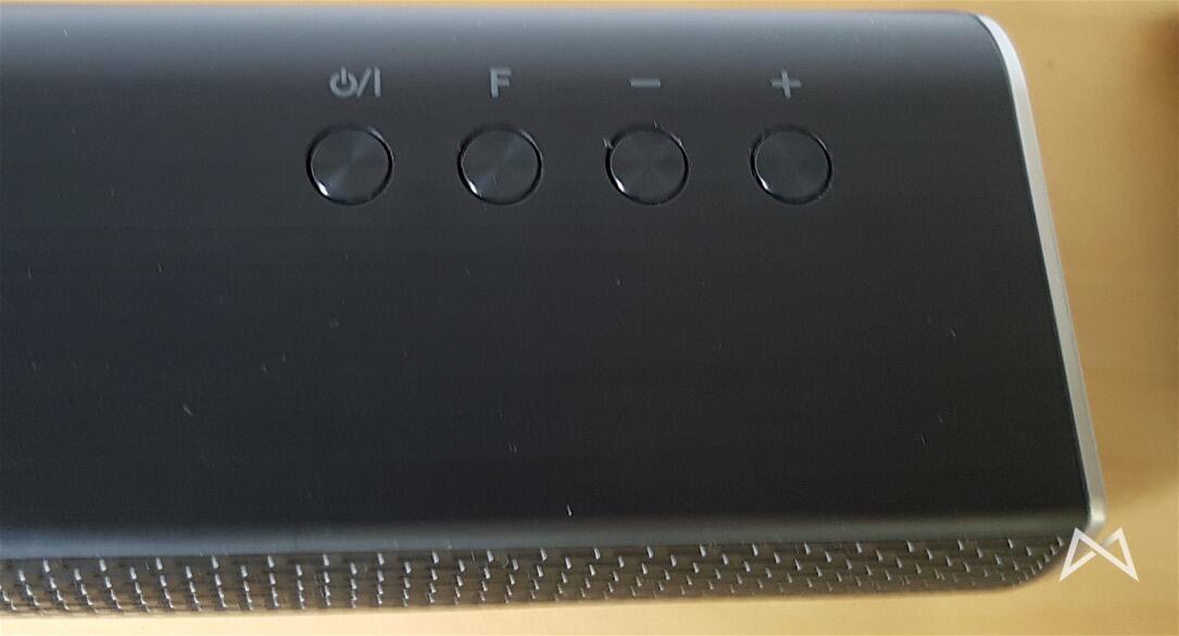 LG Soundbar Bedientasten