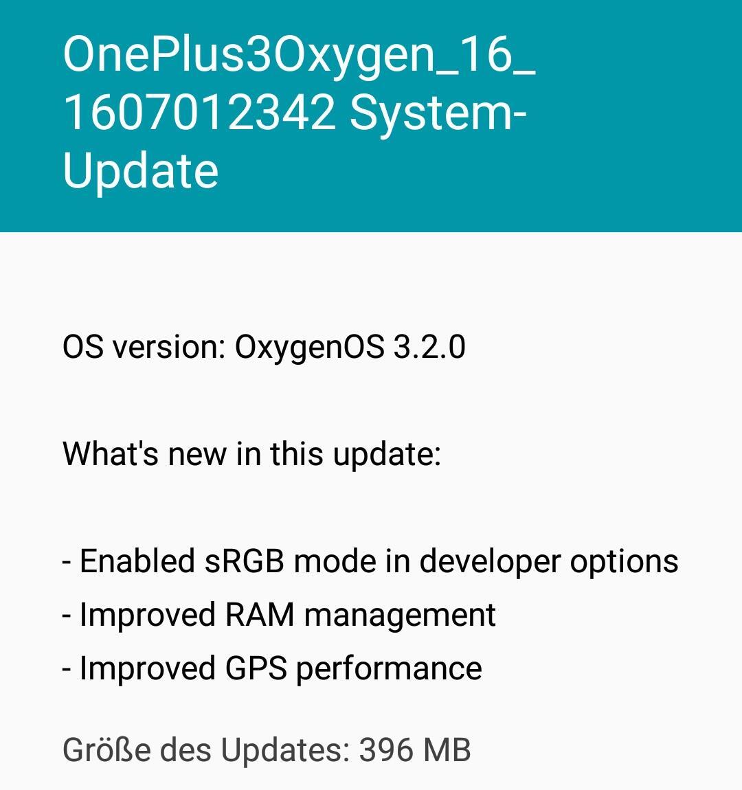 OP3 Update