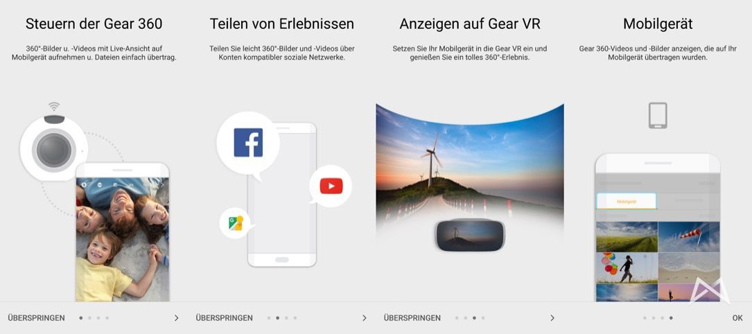 Samsung Gear 360 Assistent