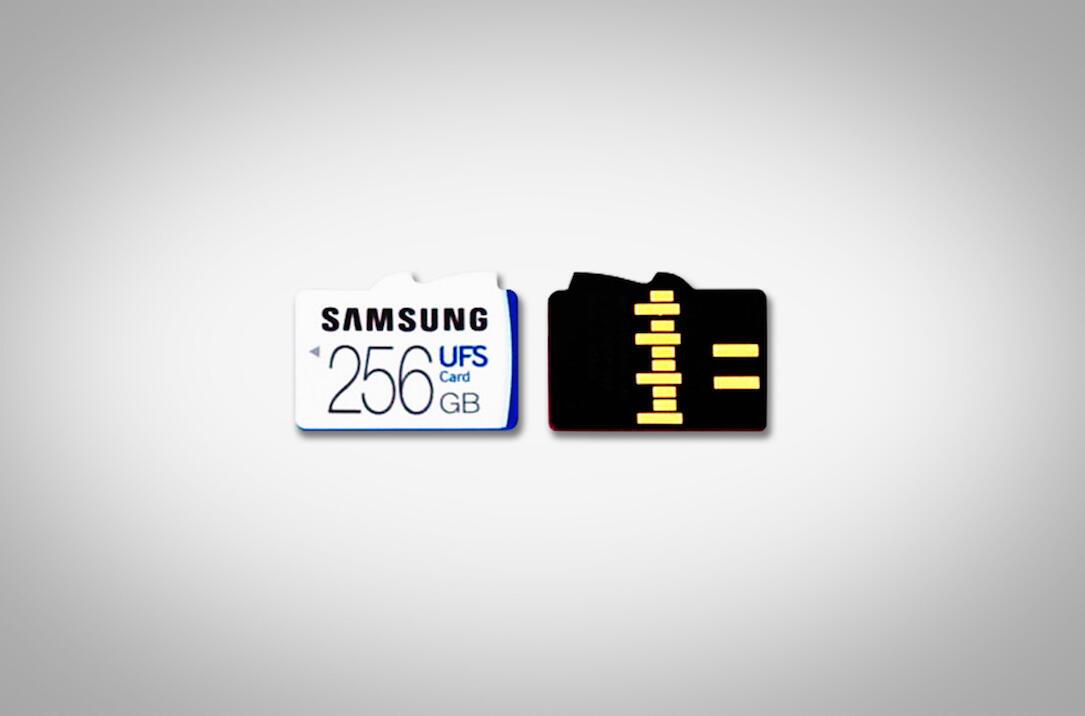 Samsung UFS Karte