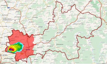 Main-Kinzig-Kreis, Quelle: DWD