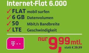 internet flat 6 gb telekom lte