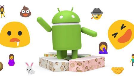 Android 7.0 Nougat Emoji Header