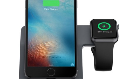 Belkin_PowerHouse_ChargeDock_forAppleWatch_iPhone_F8J200-WHT_Front_wdevices