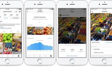 Business-Funktionen instagram