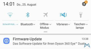 Dyson 360 Eye Update