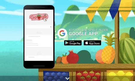 Google Fruit Games 2016 Header