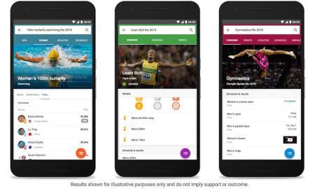 Google Olympic Games 2016 Rio