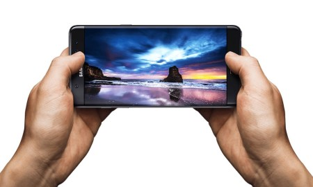 Samsung Galaxy Note 7 Display Header