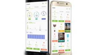 Samsung S Health Header
