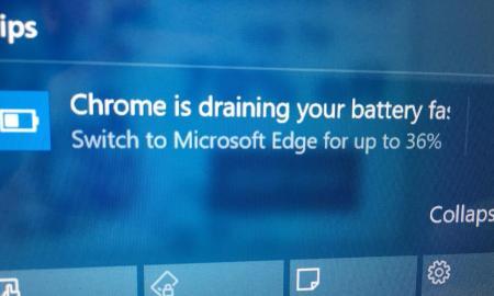 chrome notification windows 10 edge