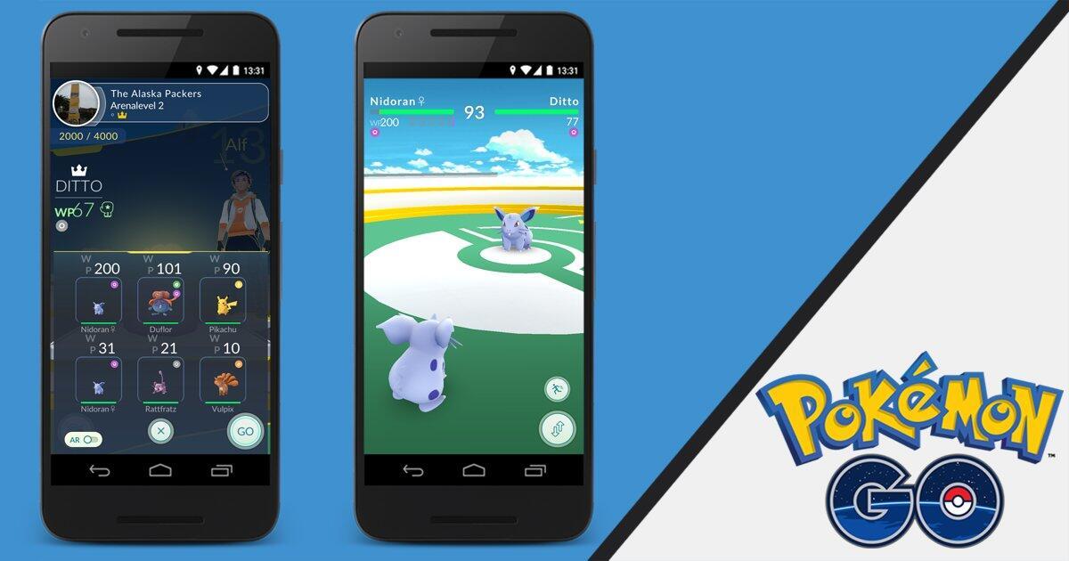 Pokemon GO Update1