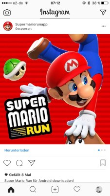 Super Mario Run Android Fake Screens1