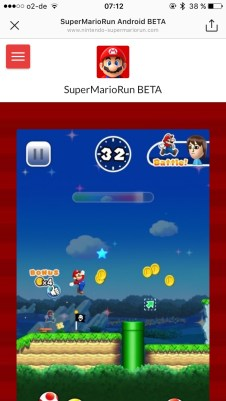 Super Mario Run Android Fake Screens2
