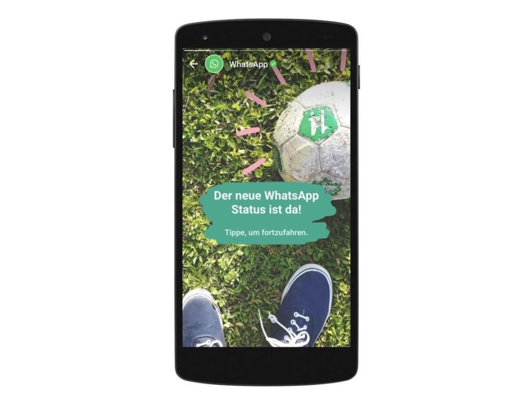 Whatsapp Status Kann Jetzt Genutzt Werden
