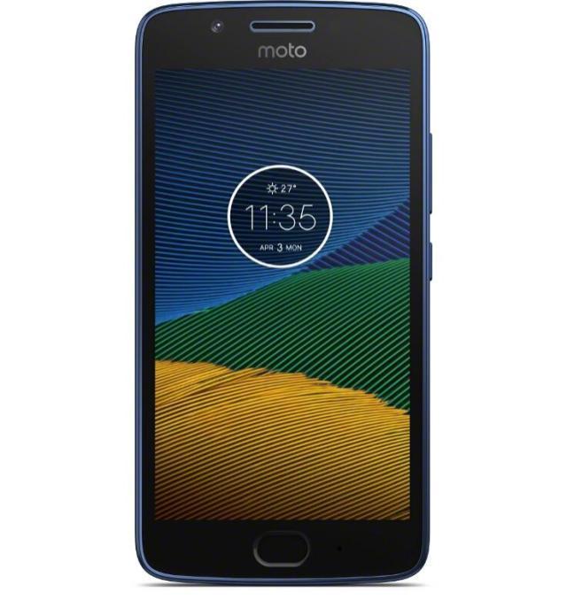 Moto G5 Blau4