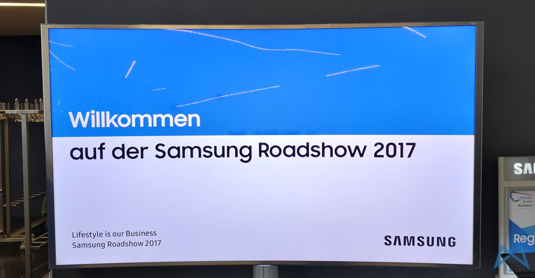 zu besuch auf der samsung roadshow 2017 in m nchen. Black Bedroom Furniture Sets. Home Design Ideas