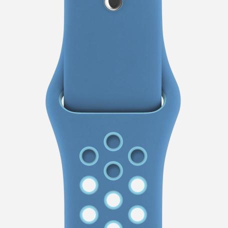 Apple Watch Nike Band Blue Orbit