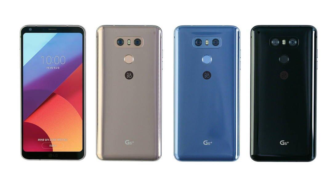 LG G6+ kommt mit Quad DAC und 128 GB Speicher