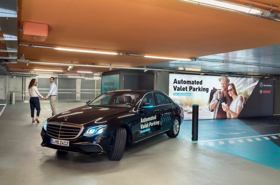 Bosch Automated Valet Parking