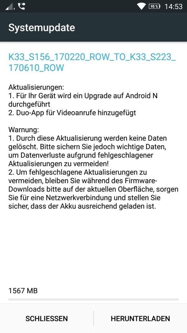 Lenovo K6 Android 7 Nougat
