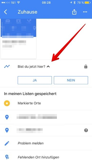 Maps Checkin Google