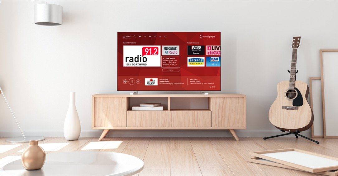 Radioplayer Smart Tv App