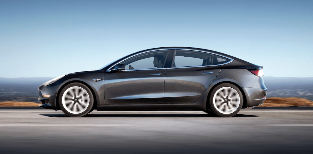 Tesla Model 3 Midnight Silver