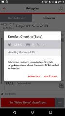 Db Vertrieb Gmbh Db Navigator Android Komfort Check In Screen1 Stand 08 2017