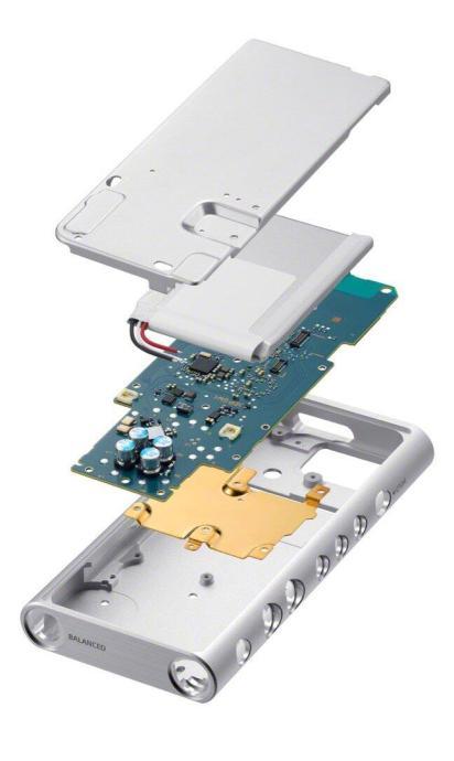 Hi Res Walkman Nw Zx300 Von Sony 1