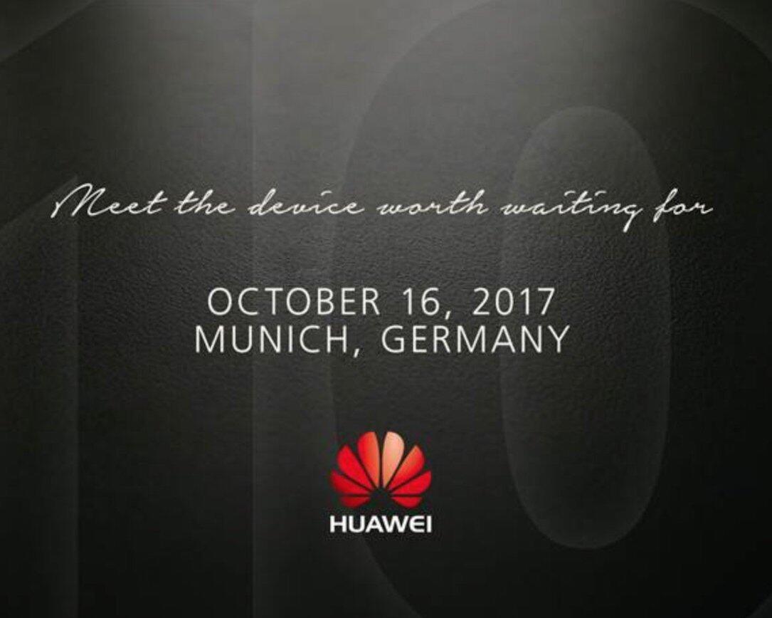 Huawei Mate 10 Event