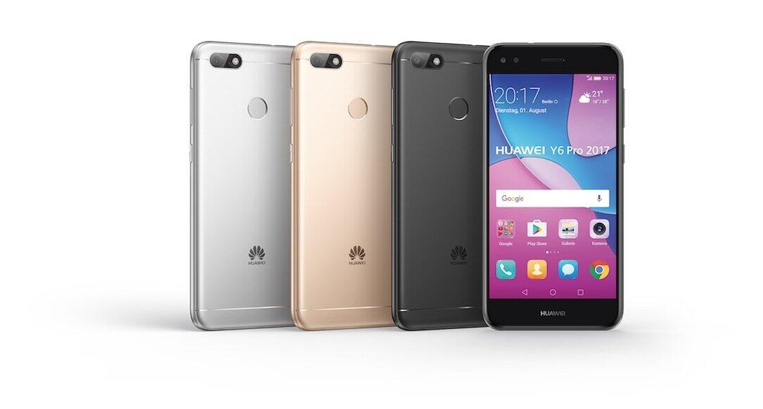 Huawei bringt ab September das Y6 Pro 2017 nach Deutschland