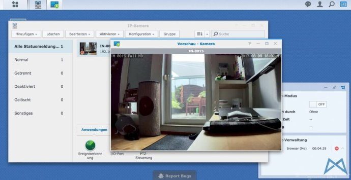 Instar In 8015 Fullhd Ip Kamera Synology Nas 2017 08 08 13.58.40