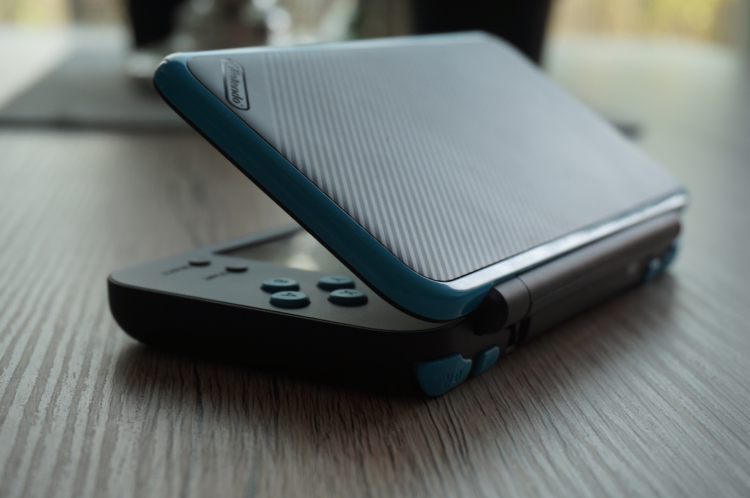 New Nintendo 2ds Xl Open