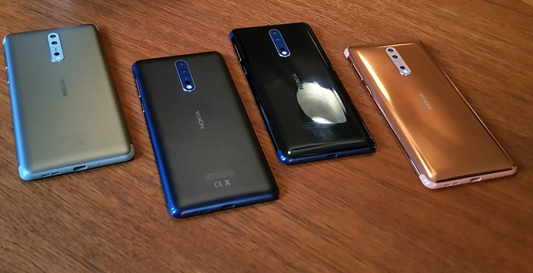 Nokia-Smartphones erhalten Update auf Android 8.0