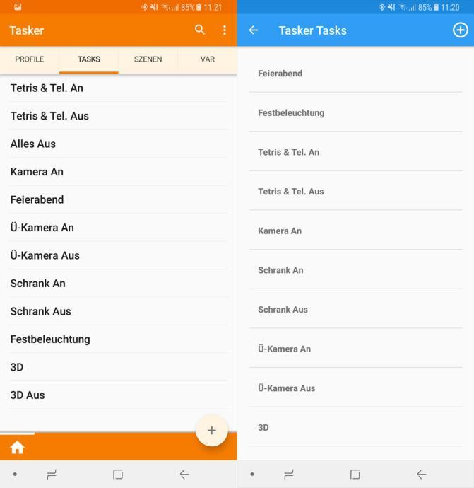 Samsung Gear S3 Frontier Tasker Tasks