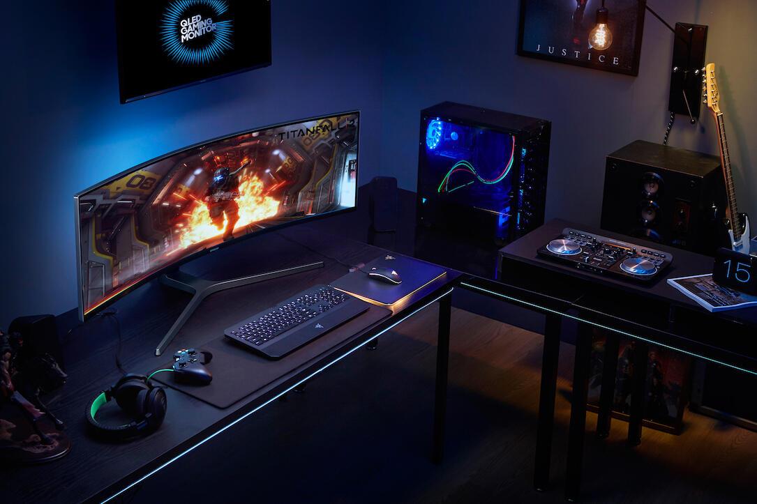 Samsung Qled Gaming Monitor Alltag