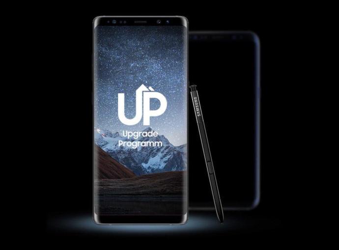 Samsung Up Header
