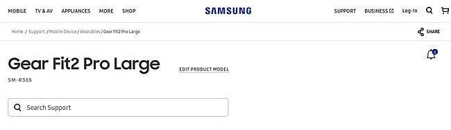Samsung Gear Fit 2 Pro