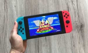 Sonic Mania Switch Header