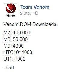 Team Venom Htc Download Statistik